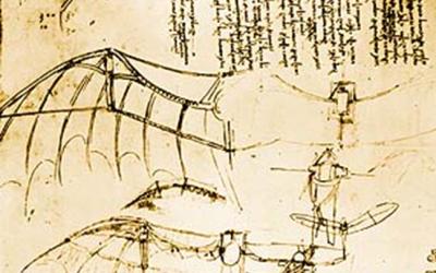 The genius of Leonardo: a futurist man from the past